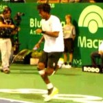 gael monfils party rockin'