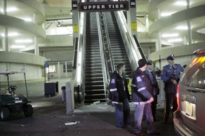 escalator accident at giants stadium