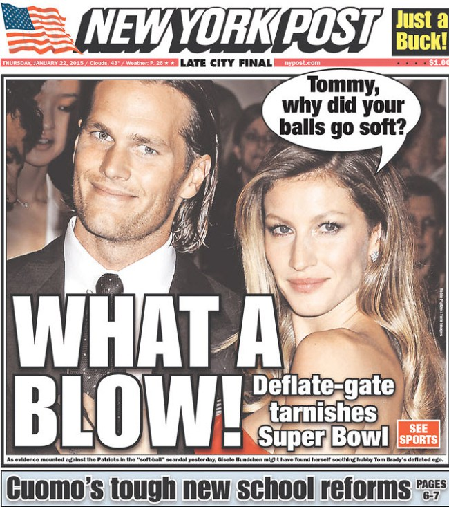 Well Done, New York Post…