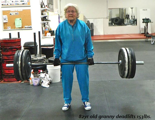 That's One Tough Granny…