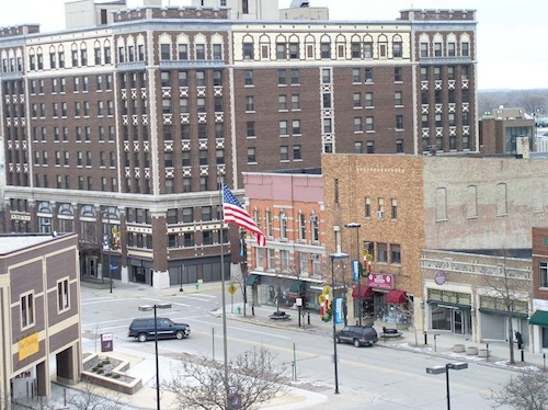 Downtown Green Bay, Wisconsin