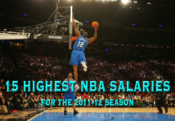 highest nba salaries 20110-12