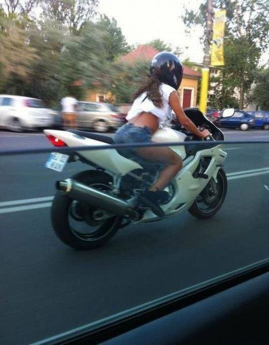 They See Me Riding…