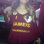 i love jameis consensually t-shirt