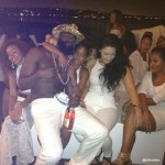 James Harden Partying with no shirt