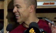 Reporter's Terrible Question Confuses Jarome Iginla (Video)