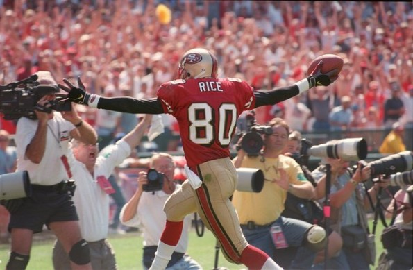 jerry rice 101 touchdown