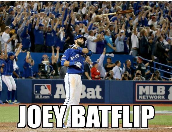 Joey Batflip!