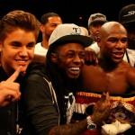 Justin Bieber, Lil Wayne, Floyd Mayweather, 50 Cent