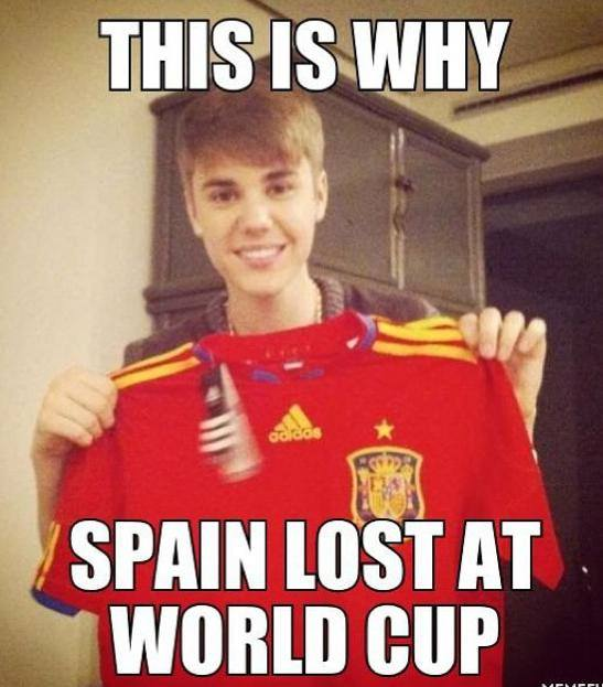The Reason Why Spain Lost