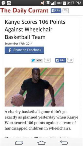 DOUCHEBAG Kanye!