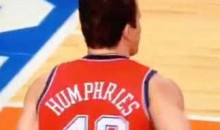 Kris Humphries Gets An Not-So-Warm Welcome From The NY Knicks Fans (Video)