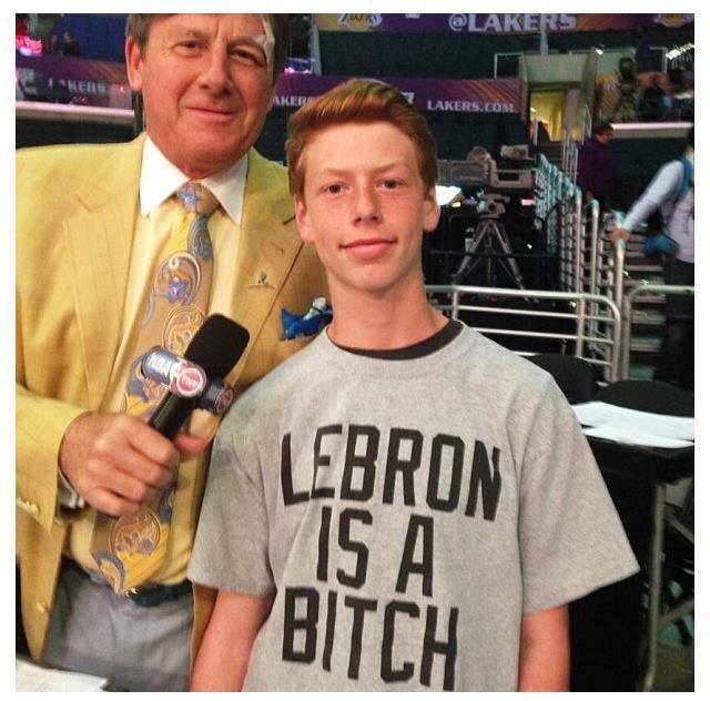 Great T-Shirt Kid!