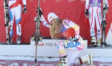 Lindsey Vonn Celebrates Victory By Tebowing (Pic)