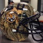 LSU Camo 'Duck Dynasty' Helmets