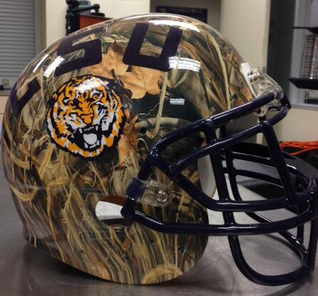 LSU 'Duck Dynasty' Helmets