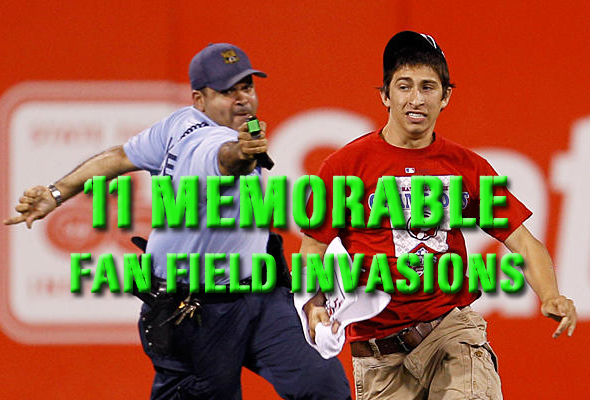 memorable fan field invasions
