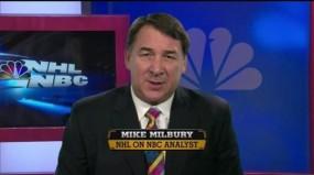 mike milbury nbc hockey analyst