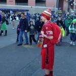 niners fan at seahawks parade