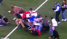 Watch An Unmanned Golf Cart Run Over People At Cowboys Stadium (Video)