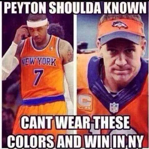 Peyton Shoulda Known…