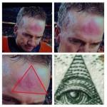 peyton manning illuminati forehead
