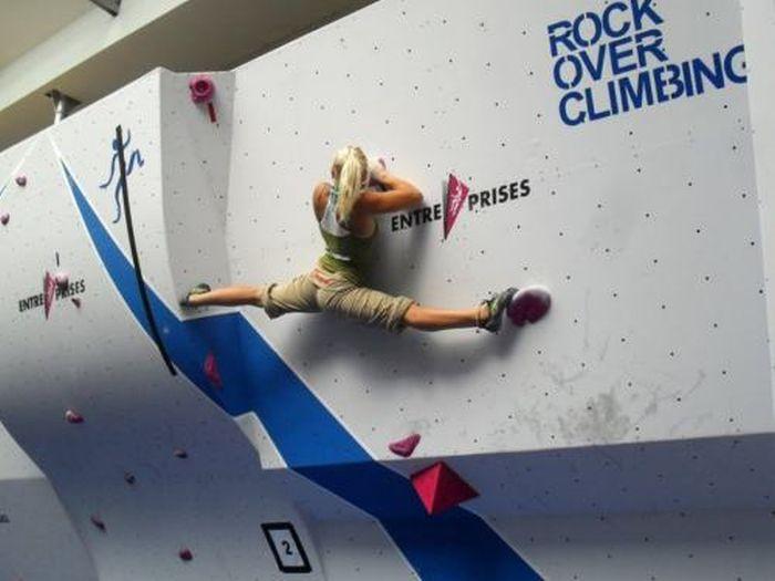 Rock Climbing…