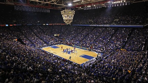 rupp arena kentucky basketball