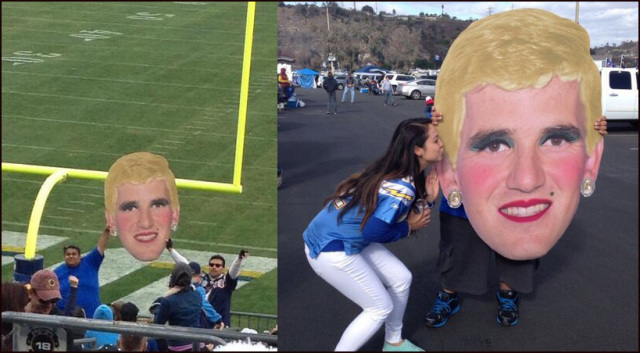 Chargers Fans Trolling