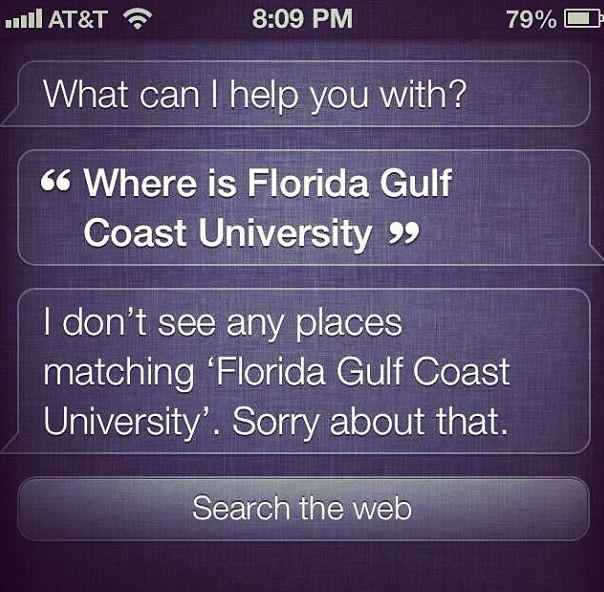 Even Siri is Confused…