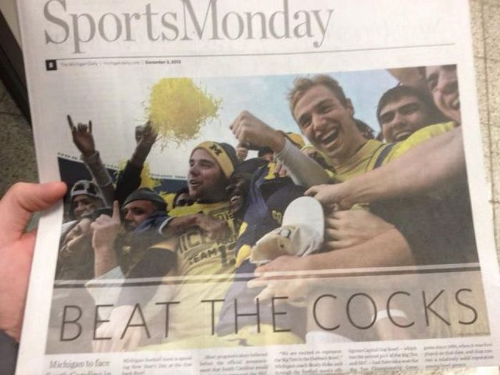 Beat The Cocks… WTF?