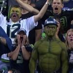 the hulk Seahawks fan