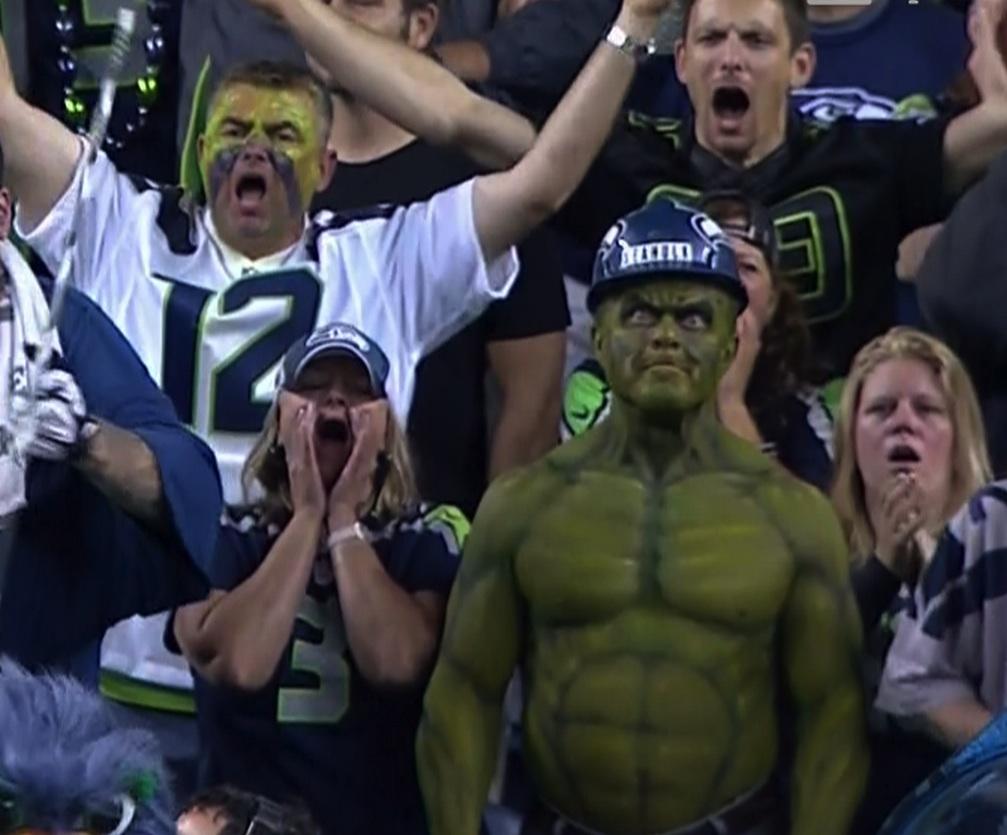 Interesting Seahawks Fan