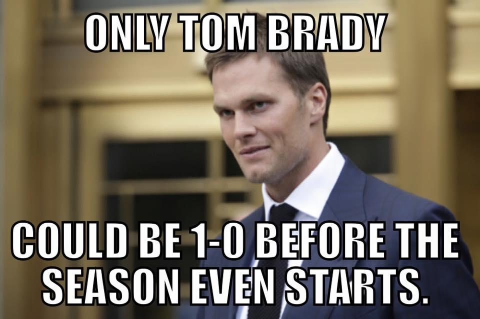 Only Tom Brady…