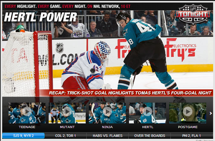 I see what you did there, NHL.