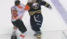Frozen Fisticuffs Fight Of The Night — Kropp vs. Rinaldo — 12/7/11