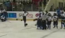 Insane Bench-Clearing Brawl Breaks Out During Turkish Hockey Game (Video)