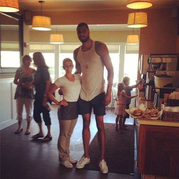 Tyson Chandler Skinny Legs