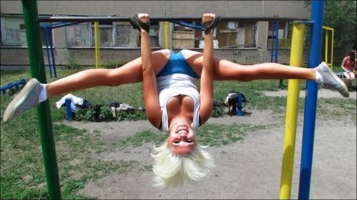 Upside Down Splits!