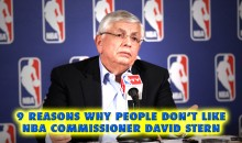 9 Reasons Why People Don't Like NBA Commissioner David Stern