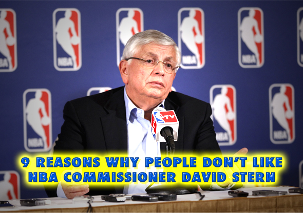 why people don't like nba commissioner david stern