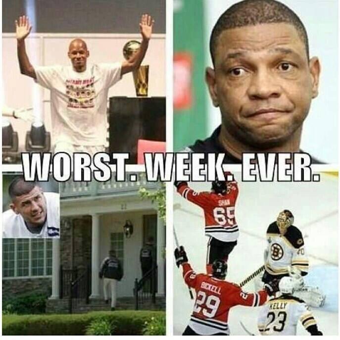 Worst. Week. Ever.