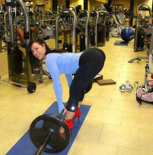 Yoga Pants Deadlift….