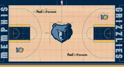 #12 memphis grizzlies court design copy
