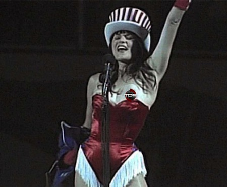 #16 lucy lawless national anthem wardrobe malfunction nip slip