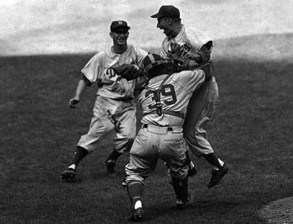 1955 world series game 7 dodgers yankees
