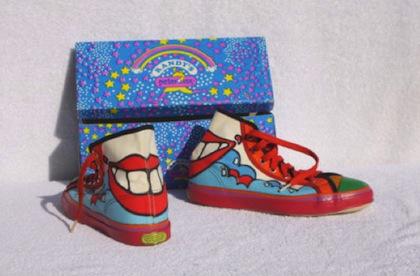 1960s Peter Max sneakers