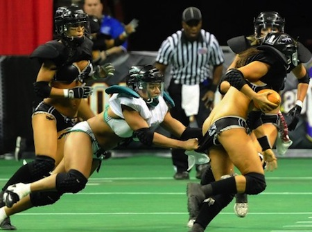 lingerie football league wardrobe malfunction 5