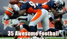35 Awesome Football Tackle GIFs