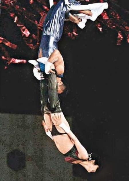 trapeze thong